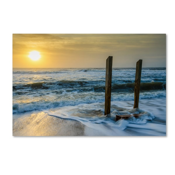 PIPA Fine Art 'Kissed by the Sea' Canvas Art