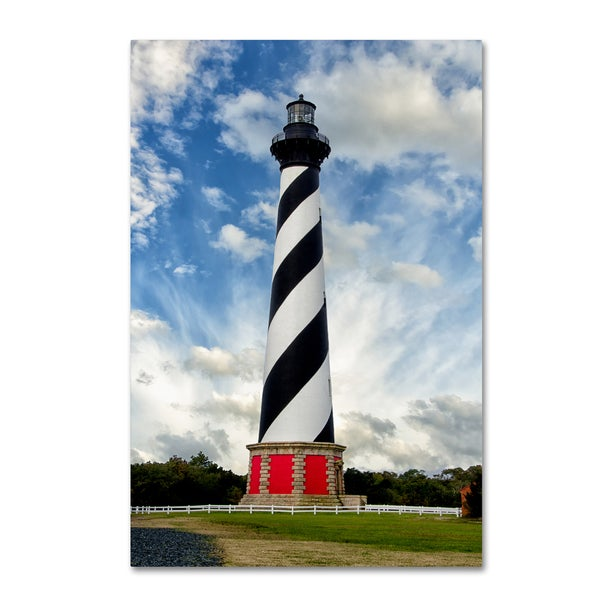 PIPA Fine Art 'Cape Hatteras Lighthouse' Canvas Art