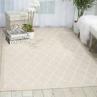 Nourison Outerbanks Oyster Area Rug - 5' x 8'