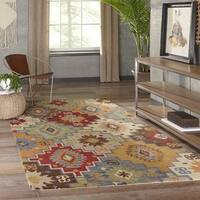 Momeni Tangier Multicolor Hand-Tufted Wool Rug (2' X 3') - 2' x 3'
