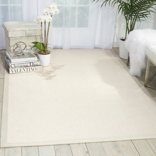 Nourison Outerbanks Seashell Area Rug (8' x 10')