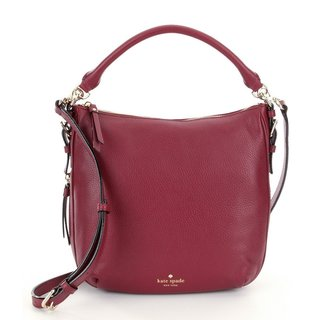 Kate Spade Cobble Hill Small Ella Merlot Leather Satchel Handbag|https://ak1.ostkcdn.com/images/products/12601971/P19397668.jpg?_ostk_perf_=percv&impolicy=medium