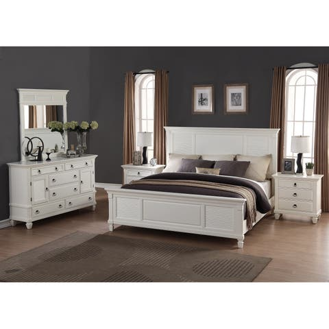 Buy White Modern Contemporary Bedroom Sets Online At Overstock