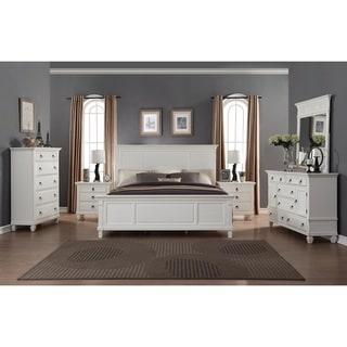 Link to Regitina White 6-Piece King-size Bedroom Furniture Set Similar Items in Bedroom Furniture