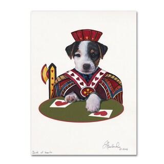 Jenny Newland 'Jack Of Hearts' Canvas Art