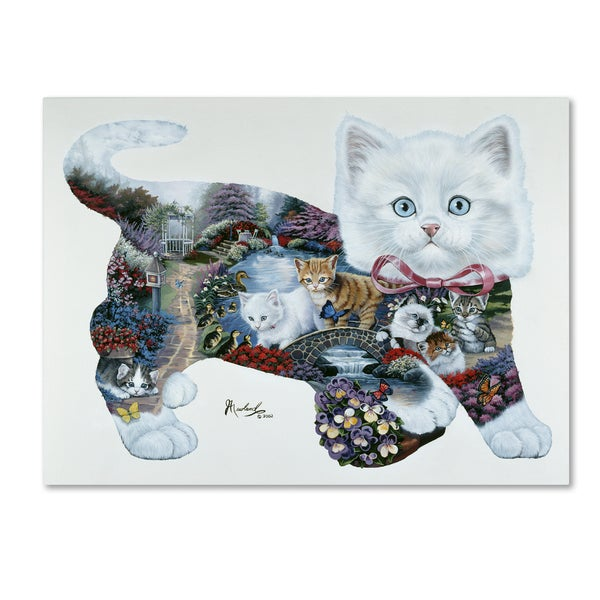 Jenny Newland 'Kitten Tales' Canvas Art