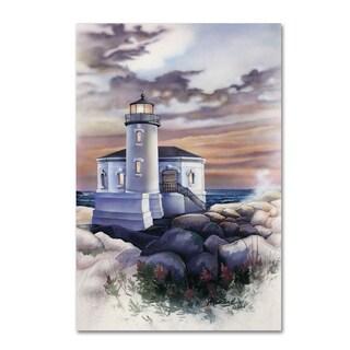 Jenny Newland 'Lighthouse' Canvas Art