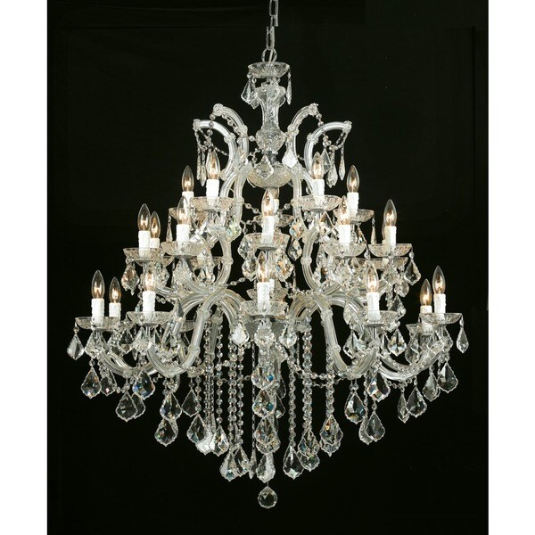 Crystorama Maria Theresa Collection 26-light Gold/Swarovski Elements Spectra Crystal Chandelier