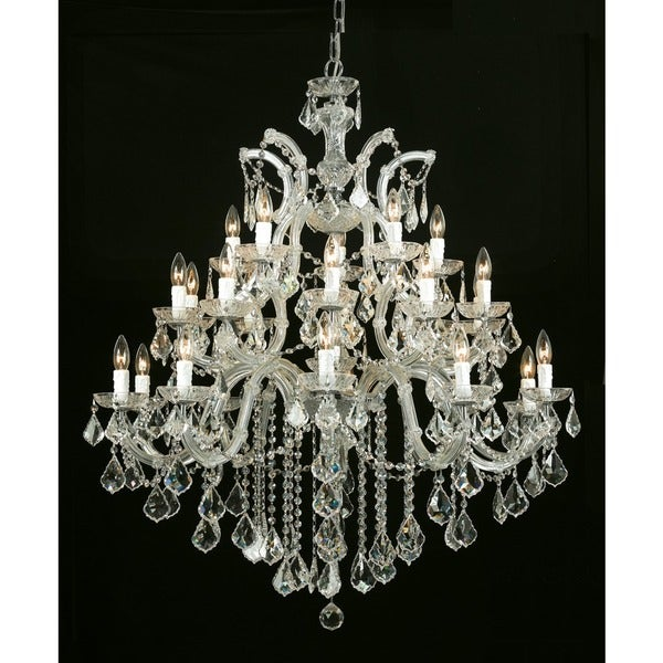 Crystorama Maria Theresa Collection 26-light Gold/Crystal Chandelier