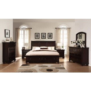 Buy Cherry Finish, Wood Bedroom Sets Online at Overstock | Our