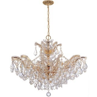 Crystorama Maria Theresa Collection 6-light Gold/Swarovski Strass Crystal Chandelier