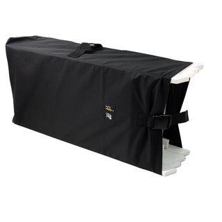 Black Polyester Waterproof Folding Chair Storage Bag (Set of 4)