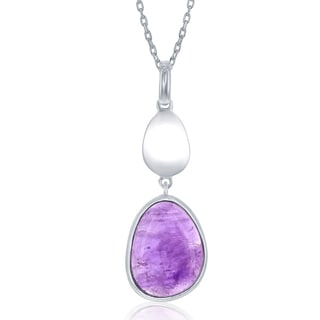 La Preciosa Sterling Silver Gemstone Pendant