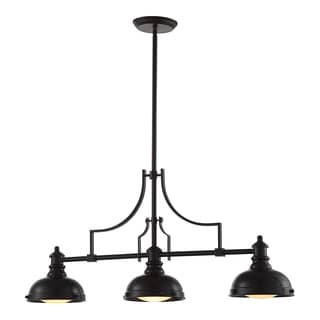 OVE Decors Bergin Full Bronze-finish 3-light LED-integrated Pendant