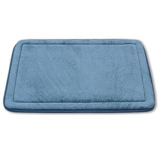 2 Piece Non-Slip Luxurious Memory Foam Bath Mat Set