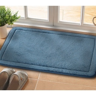 2 Piece Non-Slip Luxurious Memory Foam Bath Mat Set