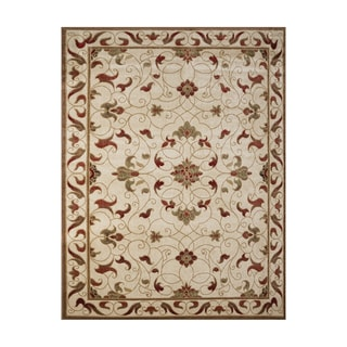 Broyhill Holland Beige Polypropylene Machine-woven Area Rug (7'5 x 10')
