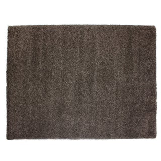 Brooklyn Chocolate Polypropylene Machine Woven Rug (6'6 x 9'6)