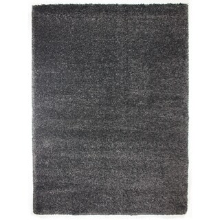 Brooklyn Steel Grey Machine Woven Polypropylene Rug (9'5 x 13')