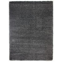"Avenue33 Ultimate Charcoal Shag Rug (7'10"" x 10') by Gertmenian - 7'10 x 10'"