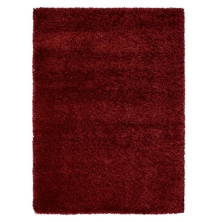 Brooklyn Bordeaux Polypropylene Machine Woven Rug (7'10 x 10')