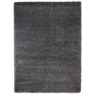Brooklyn Steel Grey Polypropylene Machine Woven Rug (6'6 x 9'6)