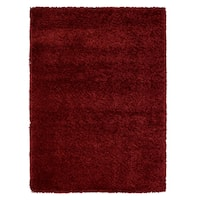 "Avenue 33 Brooklyn Bordeaux Burgundy Polypropylene Area Rug - 5'3"" x 7'5"""