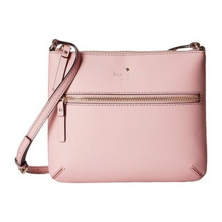 Kate Spade New York Cedar Street Market Tenley Pink Leather Bonnet Crossbody Handbag