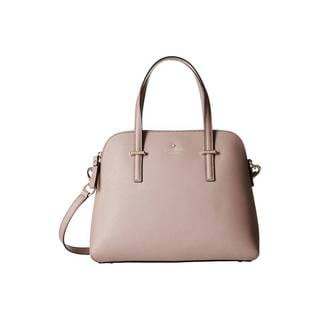Kate Spade New York Cedar Street Maise Porcini Pink Leather Satchel Handbag
