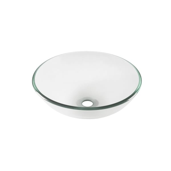 Novatto Bonificare Glass Vessel Bathroom Sink. Opens flyout.
