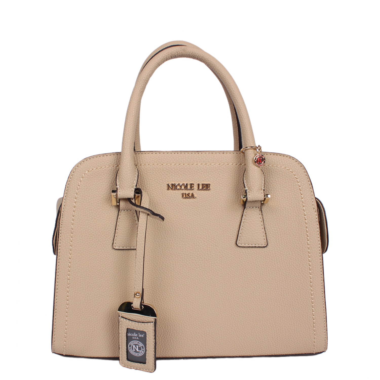 Nicole Lee Kiley Natural Satchel Handbag (Natural), Women...