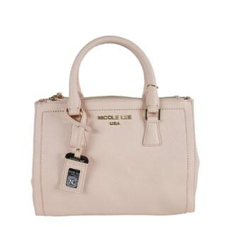 Nicole Lee Kyra Beige Satchel Handbag