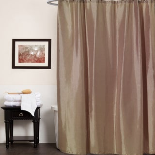 Polyester 70-inch x 72-inch Embossed Diamond-pattern Shower Curtain