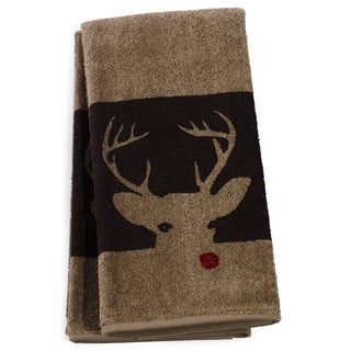 Cambridge Towels Holiday Themed Christmas Guest Towels (set of 2) - Mulitple Patterns