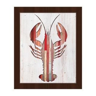 Lobster' Framed Canvas Wall Art