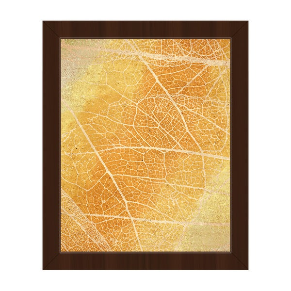 Younger Days Yellow Framed Canvas Wall Art