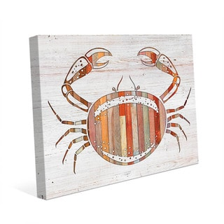 Crab' Wall Art on Canvas