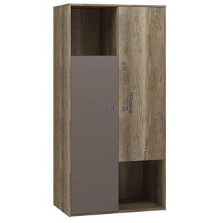Voelkel Voyager Collection Wood 2-door Wardrobe