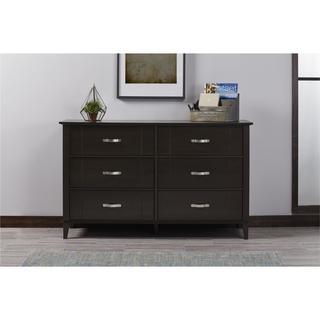 Clay Alder Home Throgs 6-drawer Espresso Dresser