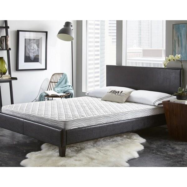 Shop Sleep Sync 6 Inch Queen Size Mattress Overstock