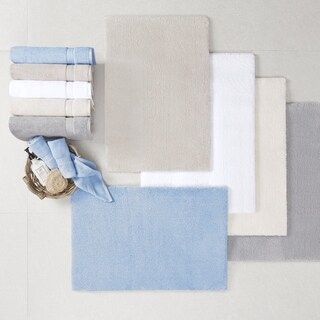 Madison Park Signature Marshmallow Bath Rug (More options available)