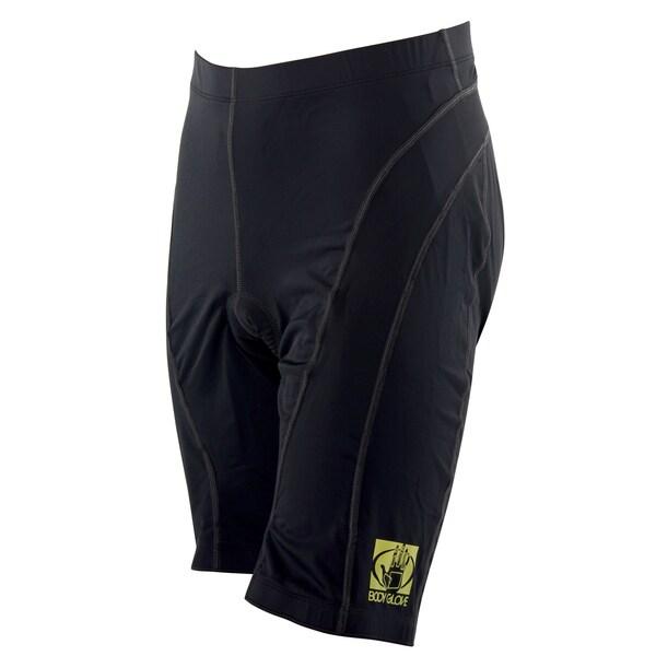 Body Glove Unisex Black Lycra Pro Comfort 10-panel Cycling Short