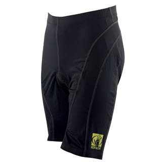 Body Glove Unisex Black Lycra Pro Comfort 10-panel Cycling Short|https://ak1.ostkcdn.com/images/products/12603983/P19399451.jpg?impolicy=medium
