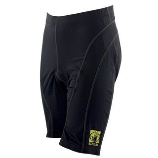 Body Glove Unisex Black Lycra Pro Comfort 10-panel Cycling Short (2 options available)