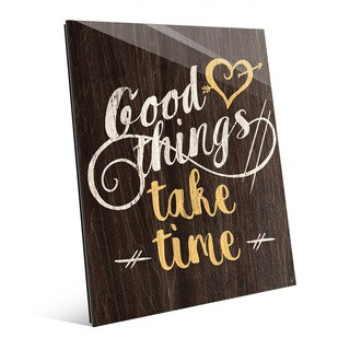 Good Things' Wall Art on Acrylic