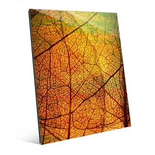 Leafy Veins Wall Art on Acrylic
