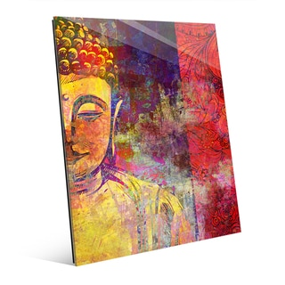 Urban Buddha Yellow' Wall Art on Acrylic