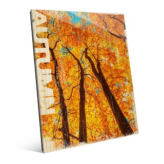 Autumn' Wall Art on Acrylic