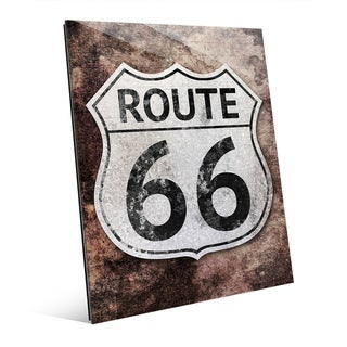 Rustic Route 66' Acrylic Wall Art