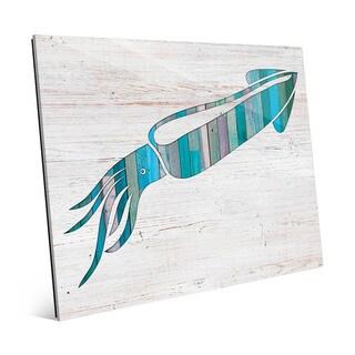 Squid Wall Art on Acrylic